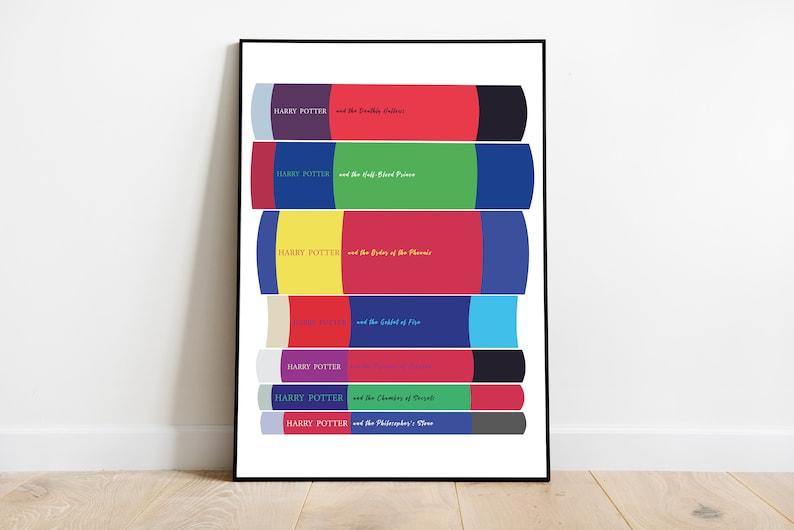 Harry Potter Book Stack  Print image 0