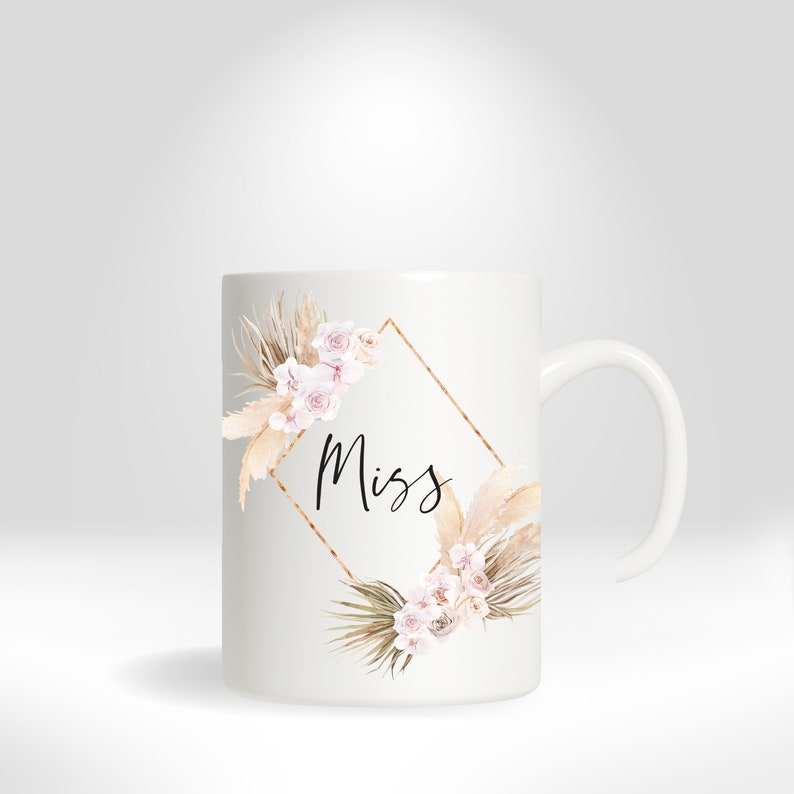 Miss Cup / Coffee Mug / Teacup with thetruebride image 0