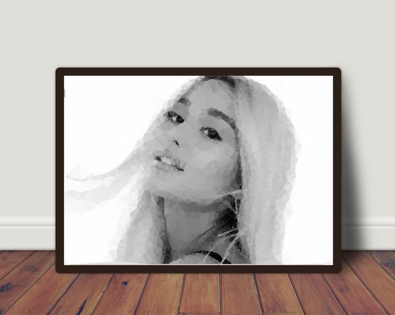 Ariana Grande A4 Poster Print 260gsm