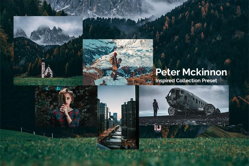 Peter Mckinnon Preset Lightroom Mobile Desktop Inspired Filter