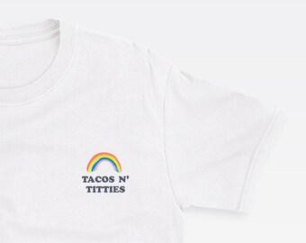 598a1863c7d9 GAY PRIDE SHIRT // lesbian shirt pride shirt funny lesbian shirt queer  shirt lesbian pride gay shirt pocket tee taco shirt