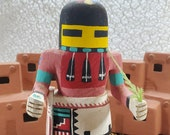 1960s Hopi Long Hair Kachina - 7 quot Tall