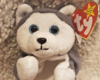 7f4b5613e8a 1996 Nanook the Husky Dog - TY Beanie Babies