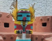 1960s Hopi Hunter Vintage Kachina - Approx. 5 quot Tall
