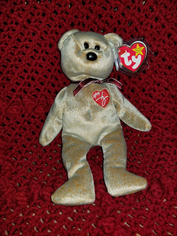 1999 Signature Bear Ty Beanie Baby  531478fdb9d