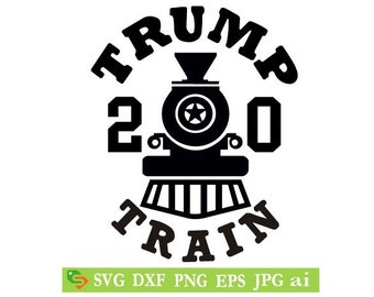 Trump Train Svg Etsy