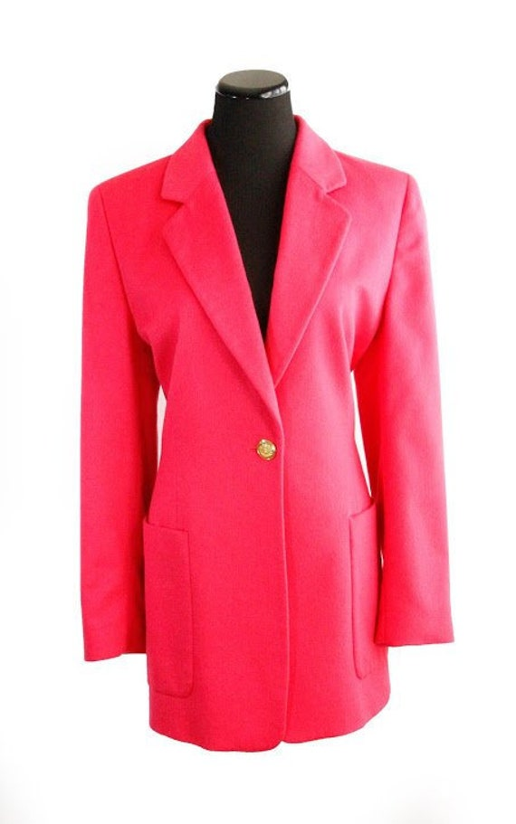 Margaretha Ley Escada Pink Jacket