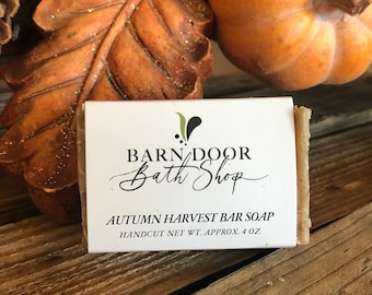 Autumn Harvest Bar Soap All Natural Hand Crafted