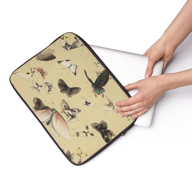 Vintage Style Butterfly Laptop Sleeve