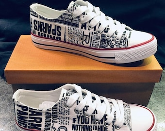 detailed look 333ff 5b833 Harry Potter Inspired Canvas Shoes. TheVibeDesign. in United Kingdom
