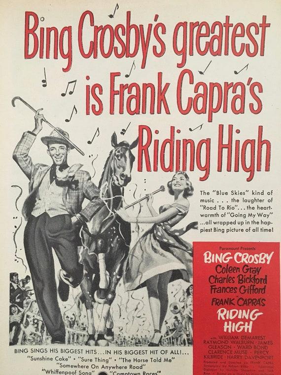 Movie Memorabilia, Vintage Hollywood Movies, Movie Advertisement, Vintage  Magazine Ads-Set #2