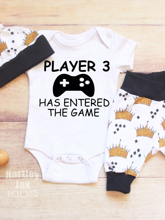 Player 9 Has Entered the Game Digital Printable Pregnancy Announcement Baby Reveal for Gamers and Video Game Lovers to Announce Baby 9