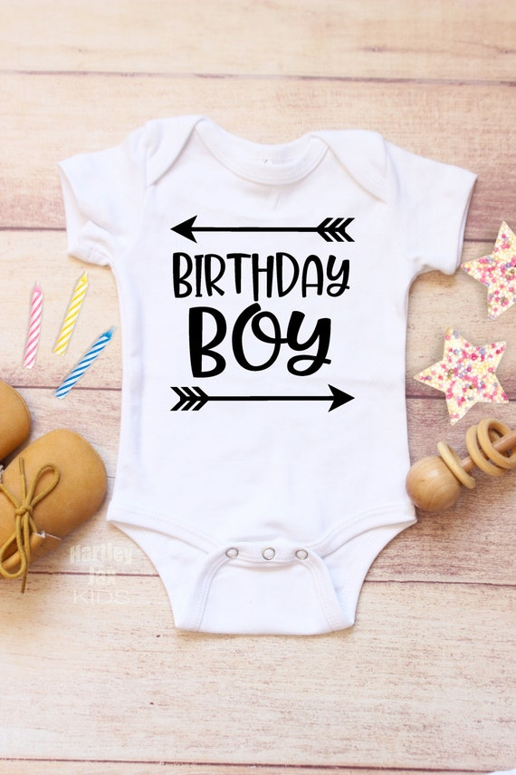 Baby Girl//Boy 1st Birthday Gift One Year Old Crown Infant Kids T-Shirt