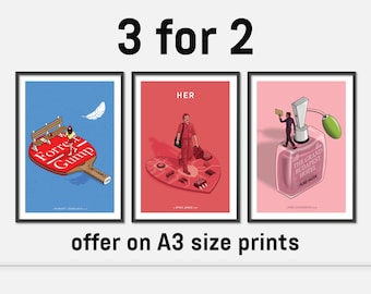 Movie poster/film poster/movie print 3 for 2 offer