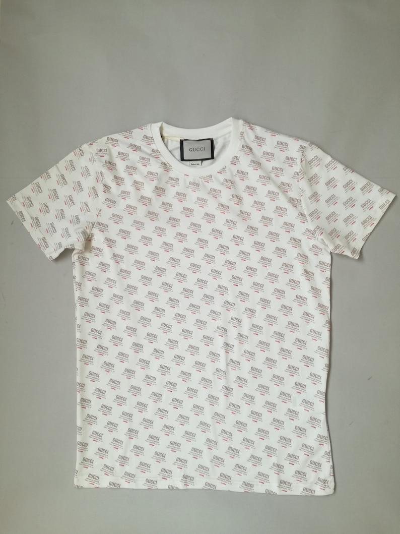 17f14bfc828 White Men T-shirt Gucci Size SMLXLXXL