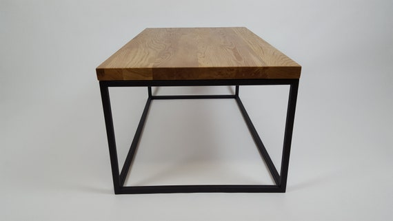 Table Basse En Chêne Table Basse Industrielle Table Basse Loft Holz De Table Basse