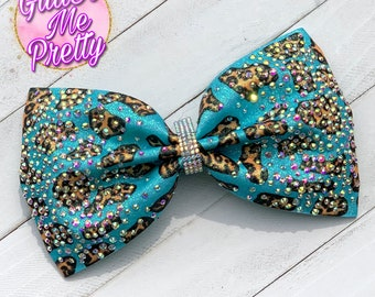 LIMITED TIME OFFER Glitter Bow and Matching Cuff Rhinestones! Customize This !