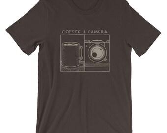 Coffee + Camera -  T-Shirt
