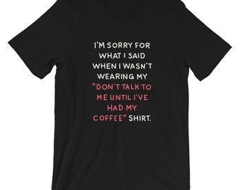 Sorry - T-Shirt