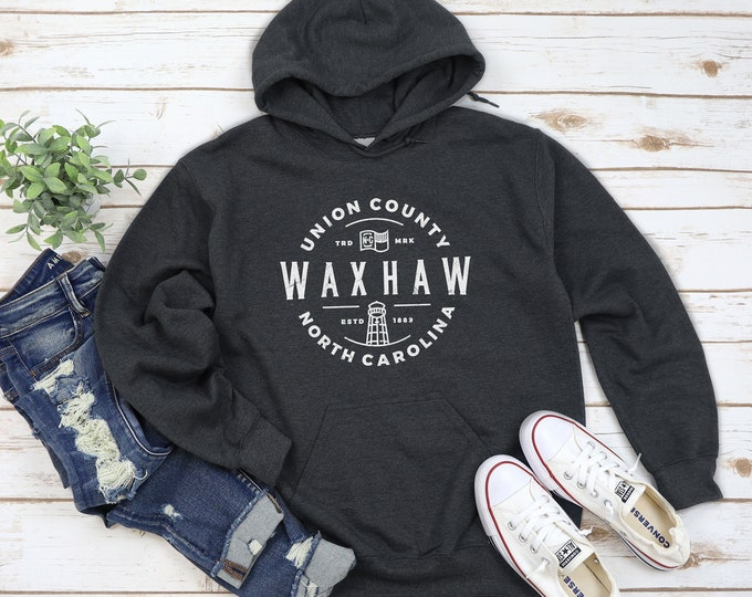 Waxhaw Seal - Hoodie (Order a Size up from normal)