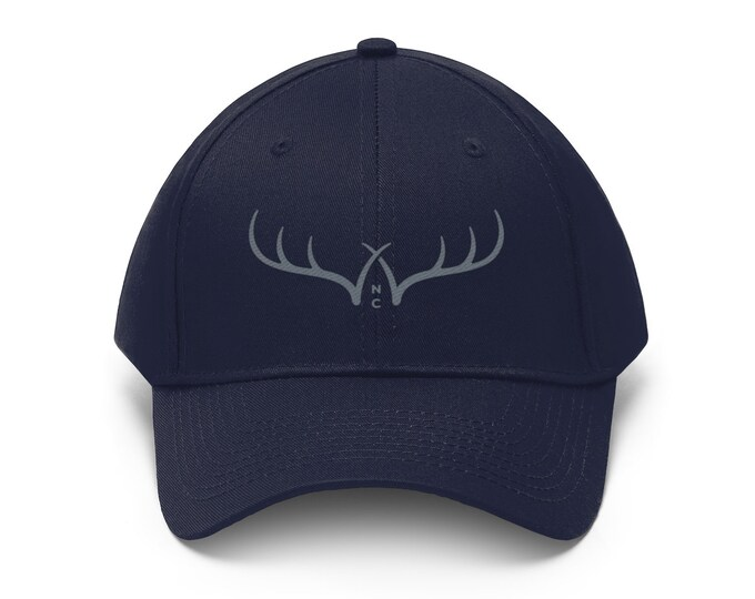 Antlers  Unisex Twill Hat