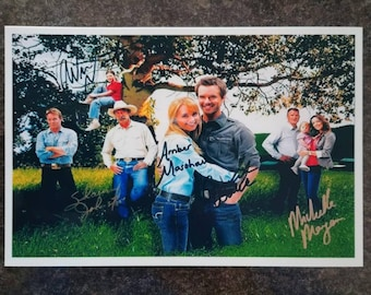 CBC Television TV show Heartland cast Canadian Country living family drama series photo picture color 4x6