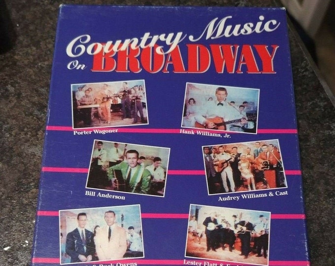 RARE Country Music on Broadway VHS tape Quality Video Canada 1991 Music Concert rare footage of first full feature Country music film