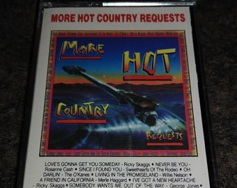 SEALED More Hot Country Requests cassette tape 1988 CBS Records Canada Chromium