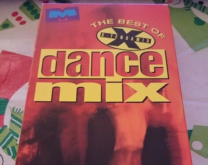 Much Music The Best of Xtendamix Dance Mix VHS tape 1993 Quality Video Canada MTV