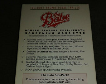 The Babe Sweet Poison Screening VHS tape double feature 1992 MCA Universal promo