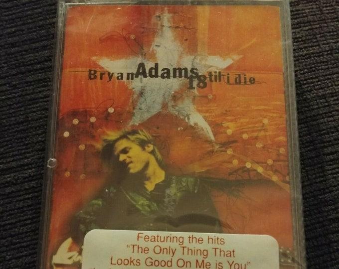 BRAND NEW SEALED Bryan Adams 18 Til I Die cassette tape 1996 Polygram Canada A&M