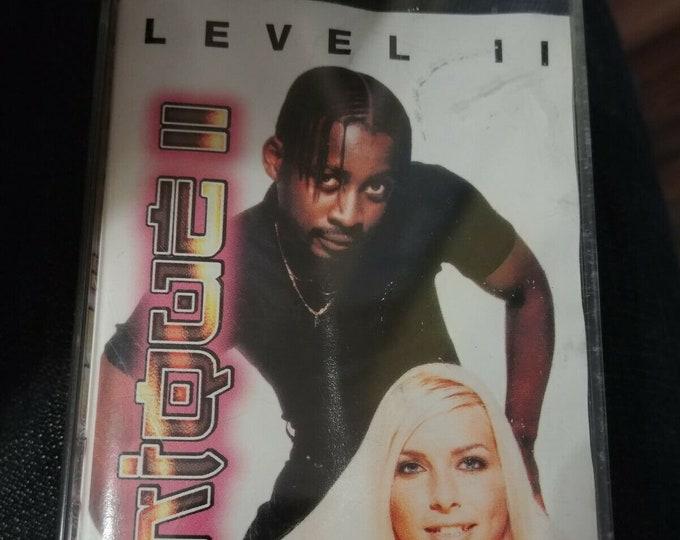 Very Rare Unique II 2 Level II cassette tape 1996 Euro House Dance Columbia Sony Music Canada