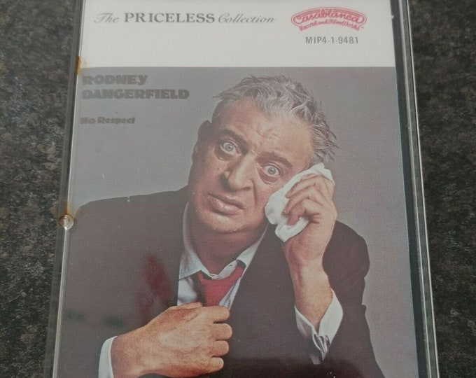Rodney Dangerfield No Respect 1980 cassette tape Casablanca Records Comedy Show