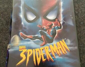 VERY RARE Secret Wars Spider-Man VHS tape Marvel Films Telegenic 1997 100 mins.
