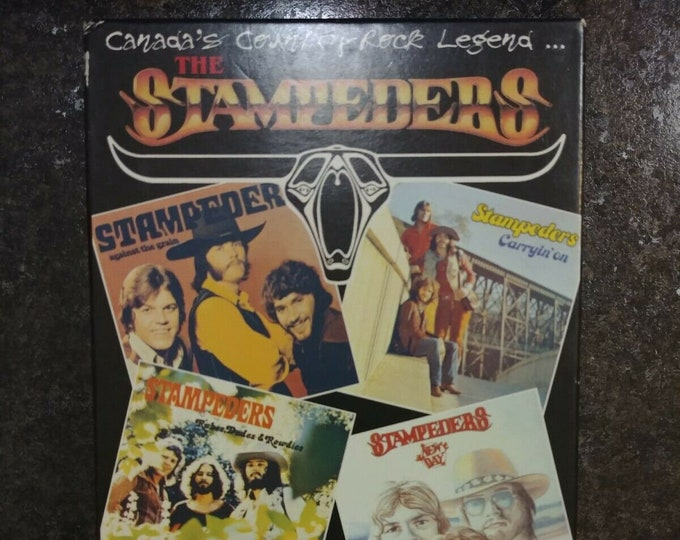 VERY rare and out of print The Stampeders Hit the Road VHS tape 1991 Canadian rock band Sweet City Woman Marigold Records