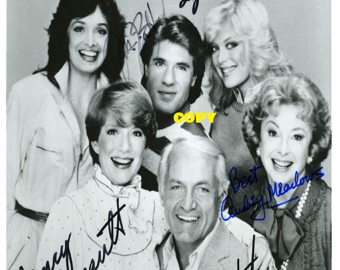 To Close For Comfort show family sitcom 1980's cast members signed reprint photo poster autograph RP