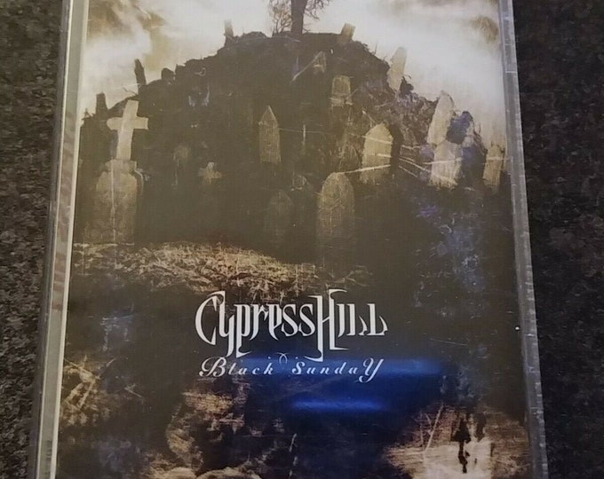 HTF Cypress Hill Black Sunday Radio Version 1993 cassette tape Ruffhouse Sony Canada Radio Censored Version cassette