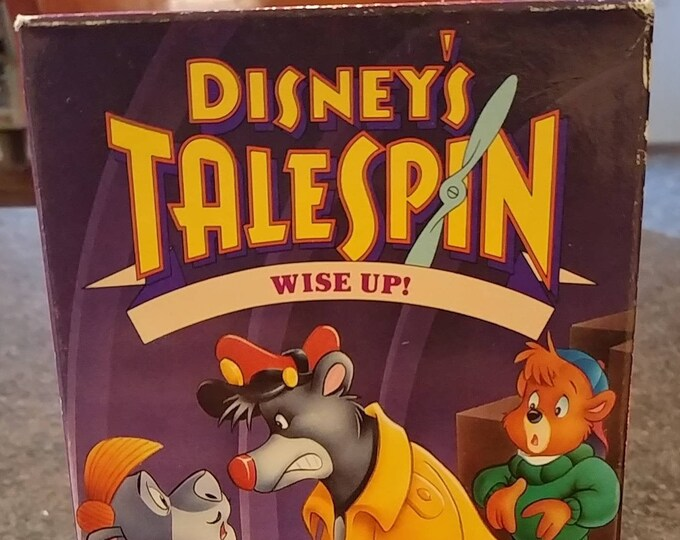 Disney's Talespin Wise Up! Vol. 7 VHS tape Walt Disney Home Video 1990's