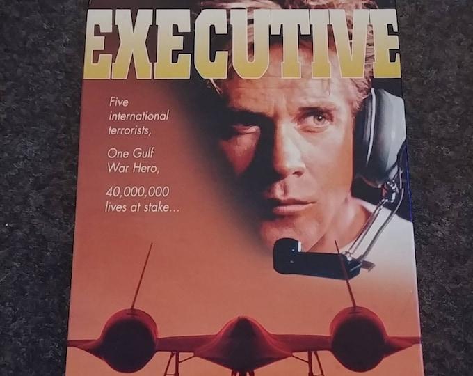 RARE Version Executive Command VHS tape movie CFP Video Canada 1997 A.K.A Strategic Command Michael Dudikoff