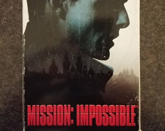Mission: Impossible VHS tape 1996 Tom Cruise Paramount Pictures