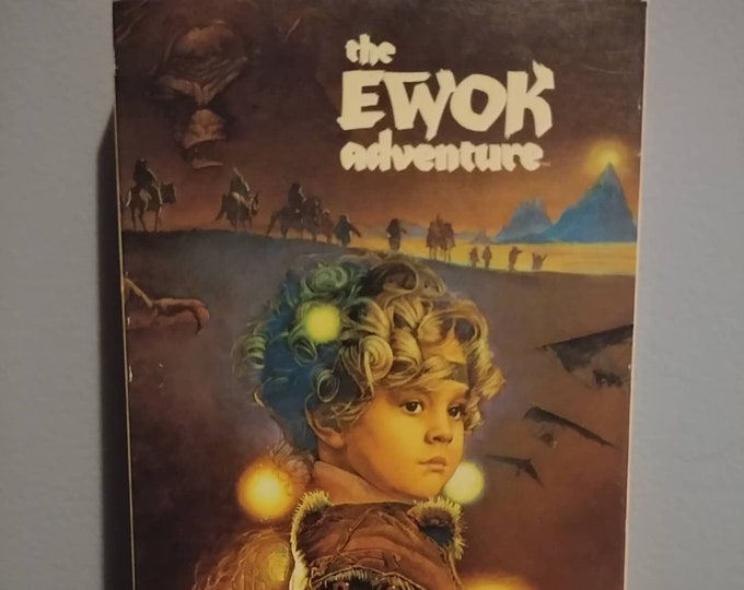 Rare The Ewok Aventure VHS tape 1984 TV Movie MGM Home Video Star Wars