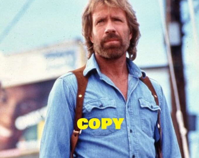 Vintage Invasion USA movie scene picture still photo 1985 Chuck Norris film RP 4x6 you pick photo