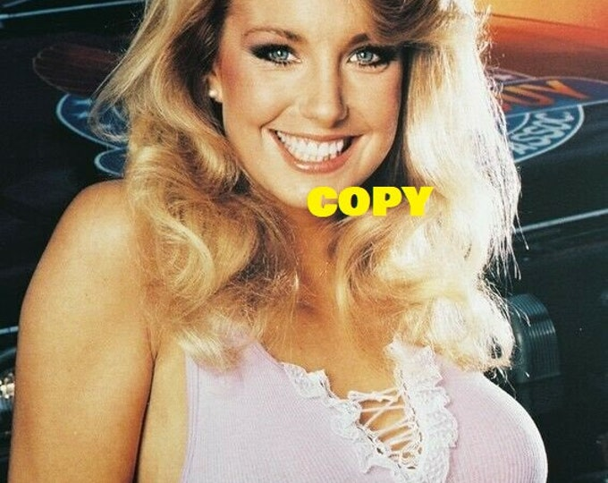 The Fall Guy action TV show 1980's Lee Majors sexy Heather Thomas photo shoot publicity picture photo RP 4x6 you pick photo