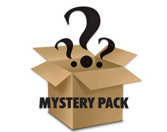 Mystery Package of 10 vintage trading cards any year any type of trading cards like NHL hockey, baseball etc.