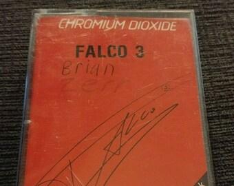 RARE Falco Falco 3 cassette tape 1985 A&M Records of Canada Ltd. Rock Me Amadeus Original Canadian version cassette