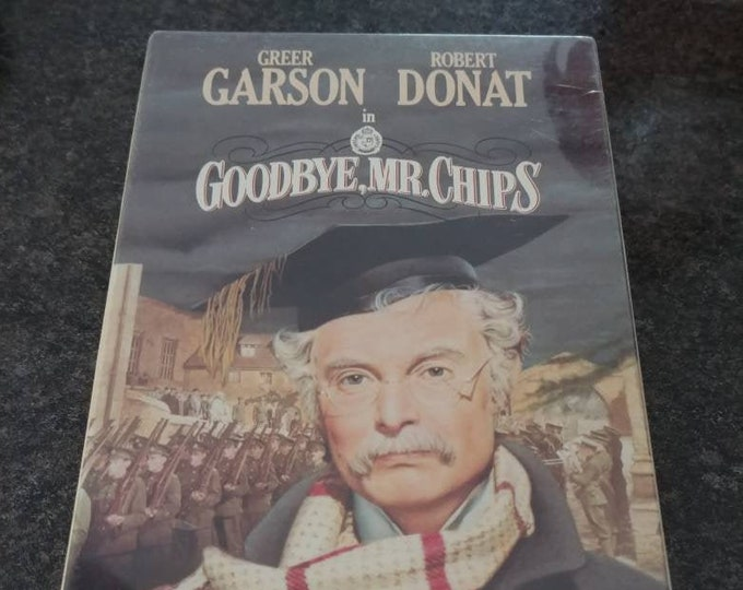 Brand NEW sealed original release Goodbye Mr. Chips VHS tape movie MGM Video release 1989 Turner Entertainment