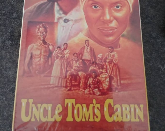 Brand NEW rare version sealed original release Uncle Tom's Cabin VHS tape movie Worldvision Home Video 1987 TV Movie version
