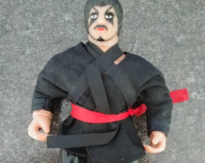 Rare 1980's SOMA Fantasy World Karate Ninja Martial Arts action figure 5.5 inches tall KO MOTU