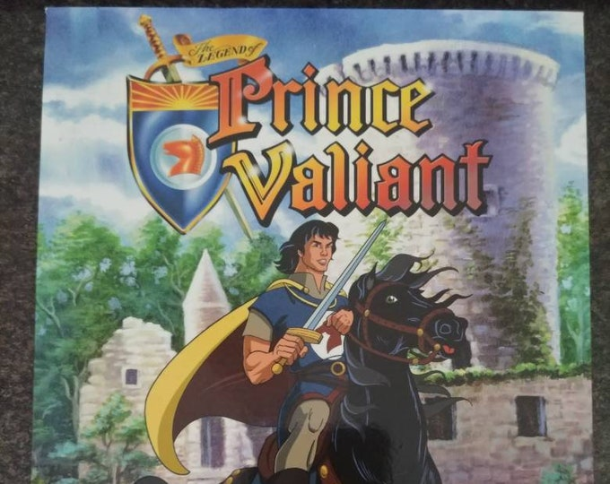 Very rare The Legend of Prince Valiant Complete Series Vol. 1 first 33 episodes DVD boxset