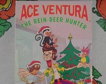Ace Ventura The Rein-Deer Hunter VHS tape kids cartoon show series 1995 Christmas TV special Holiday episode Reindeer WB Home Video